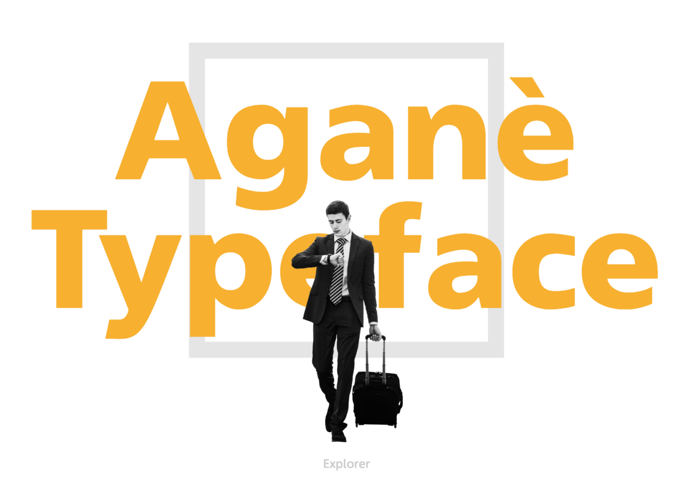 Agane Best Font