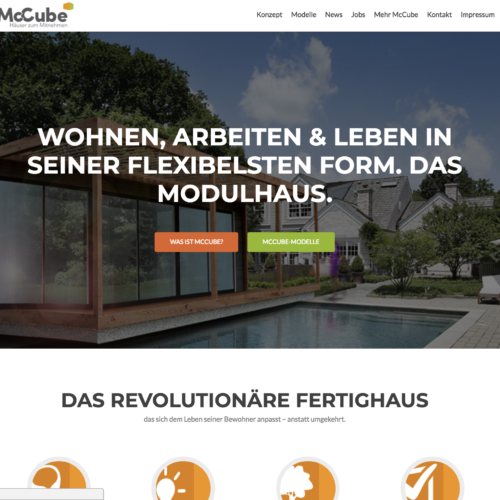 McCube Website Design