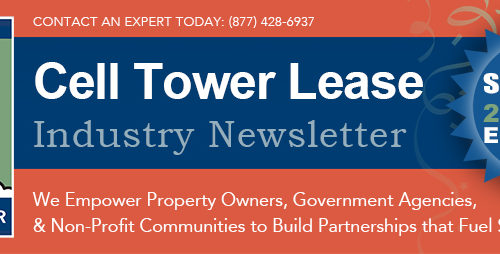 Cell Tower Lease Newsletter Banner