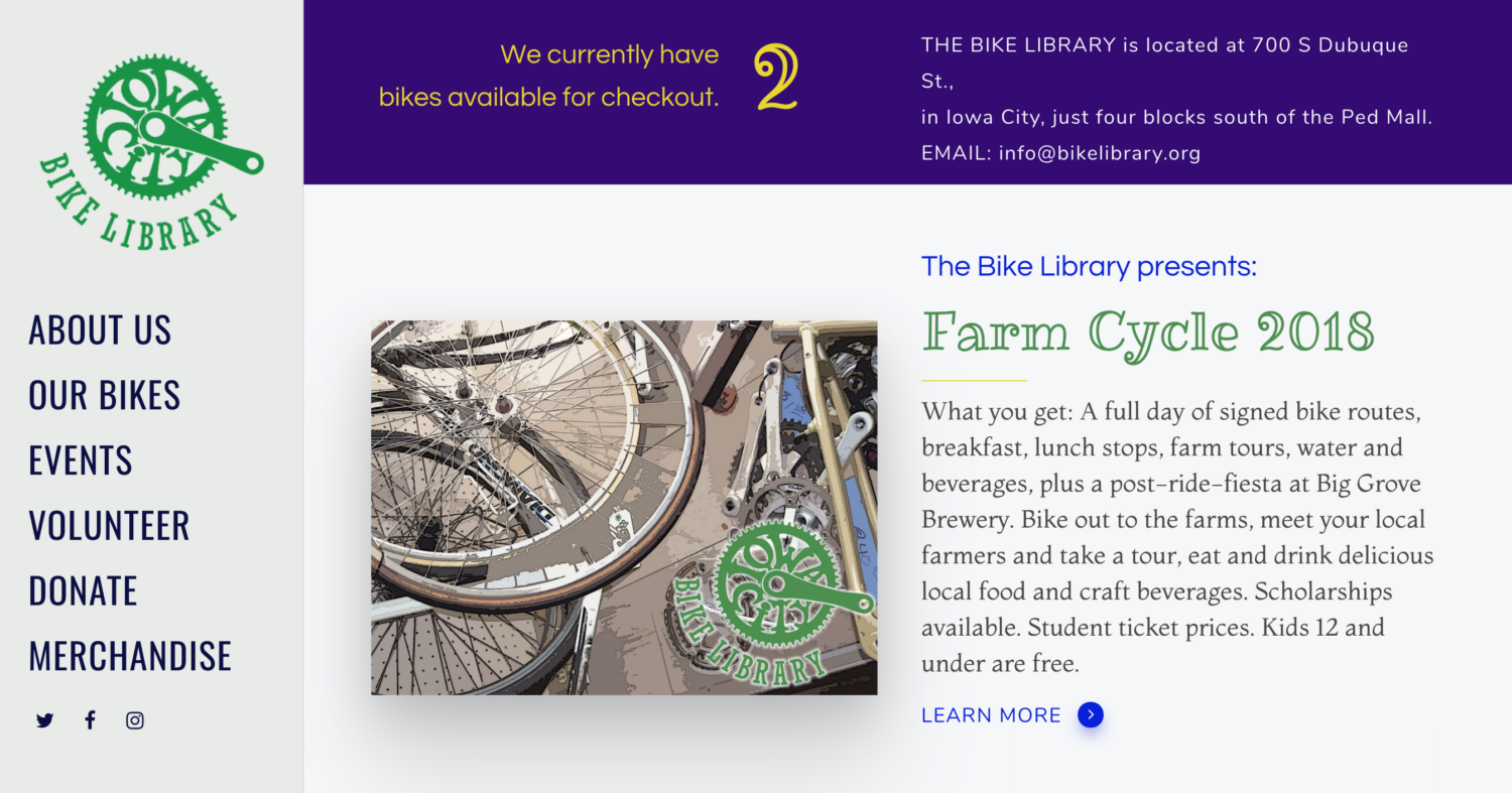 The Bike Library