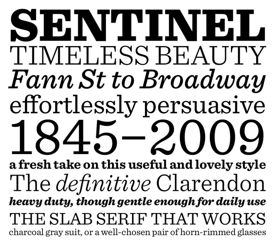 Sentinel Best Font