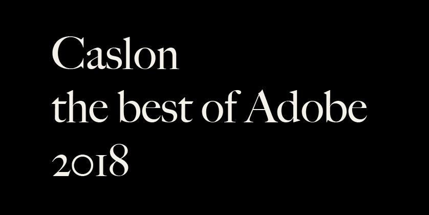 Caslon Best Font