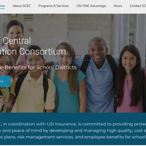 Educational Consortium UX Website